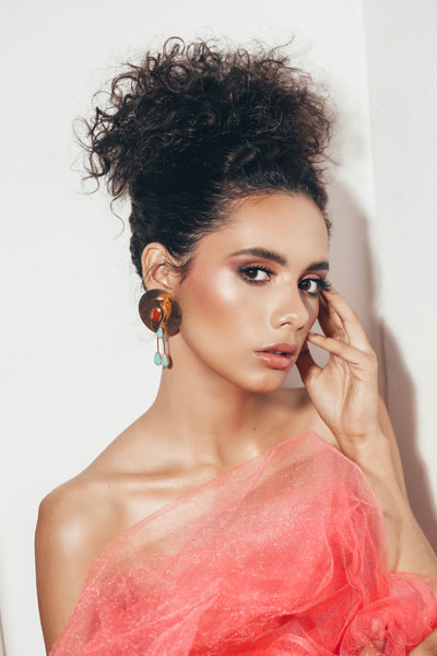 Foto da Miss Nicarágua - Inés López