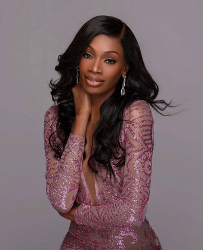 Foto da Miss Nigéria - Olutosin Araromi