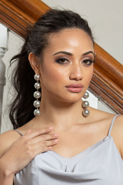 Foto da Miss Nova Zelândia - Diamond Langi
