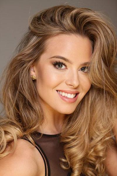 Foto da Miss Suécia - Lina Ljungberg