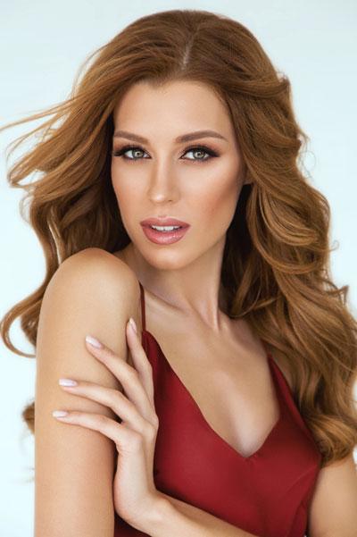 Foto da Miss Ucrânia - Anastasiia Subbota