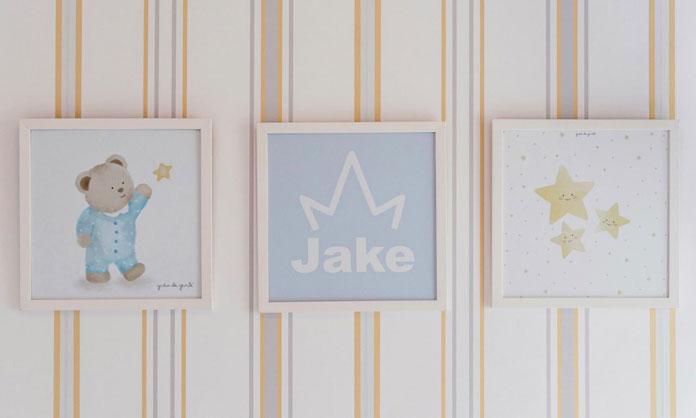 Quarto do Jake, filho de Pyong Lee e Sammy
