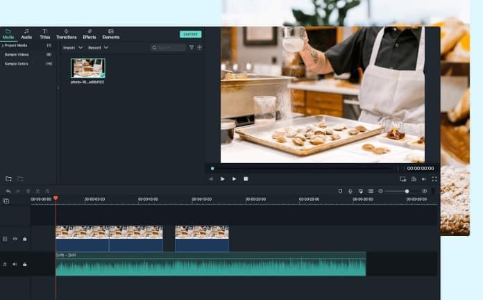 Qual é o editor de vídeo mais fácil para os iniciantes