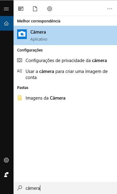 Aplicativo Câmera