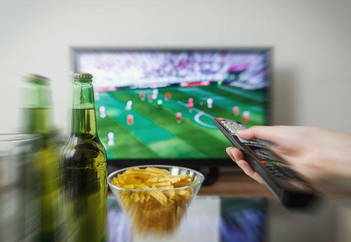 Celebração do futebol