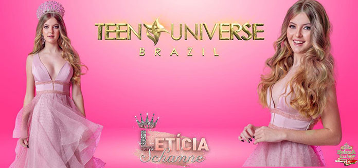 Leticia Schamne Miss Brasil Teen Universe