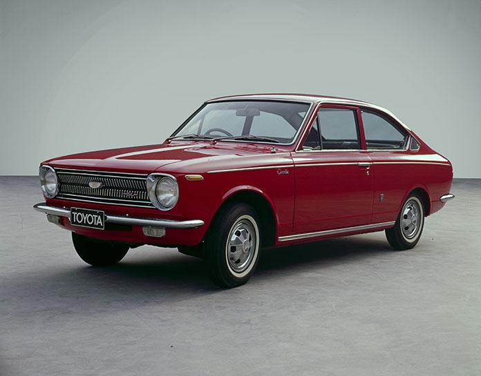 Corolla 1ª Geração 1966 - 1970